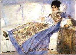"""Qui a représenté """"Madame Manet lisant sur le sofa"""" ?"""