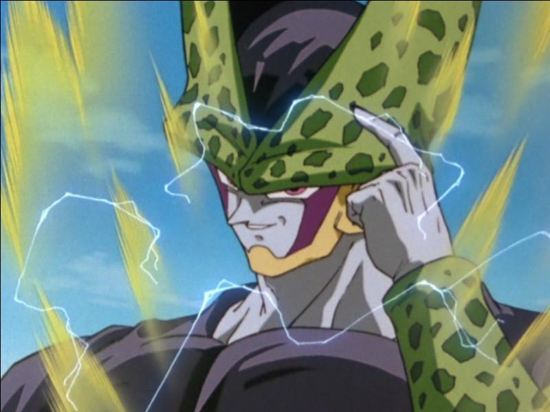 Quand Cell revient en forme parfaite, qui est-ce qu'il tue en premier ?