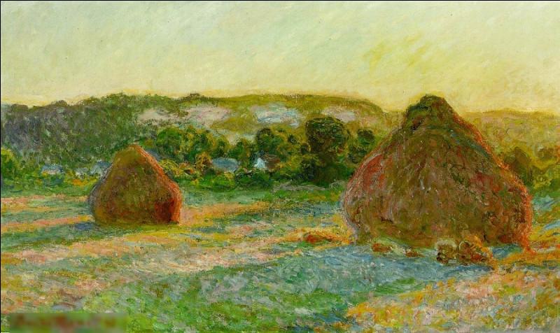 """""""Meules, fin de l'été"""" est un tableau de quel peintre impressionniste ?"""