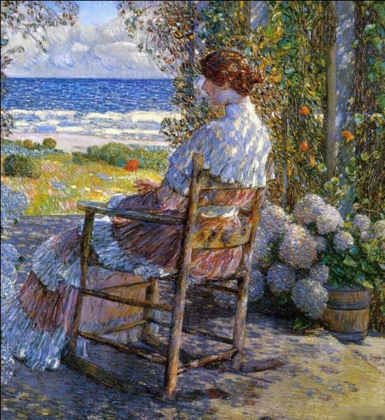 """Quel impressionniste américain a peint le tableau """"La Mer"""" ?"""