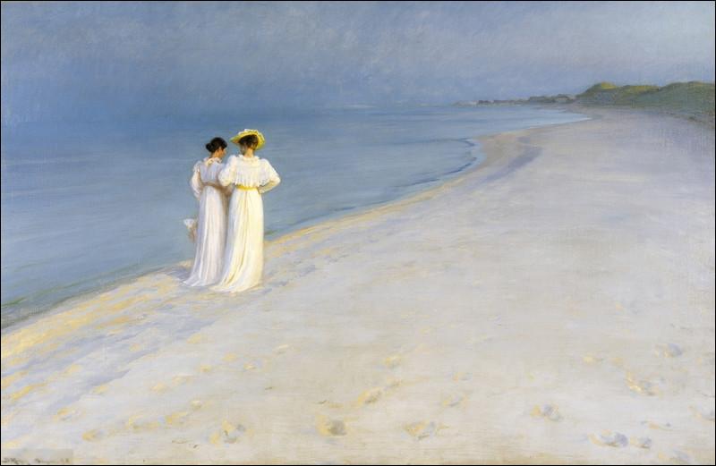 """Quel peintre scandinave a réalisé """"Nuit d'été sur la plage à Skagen"""" ?"""