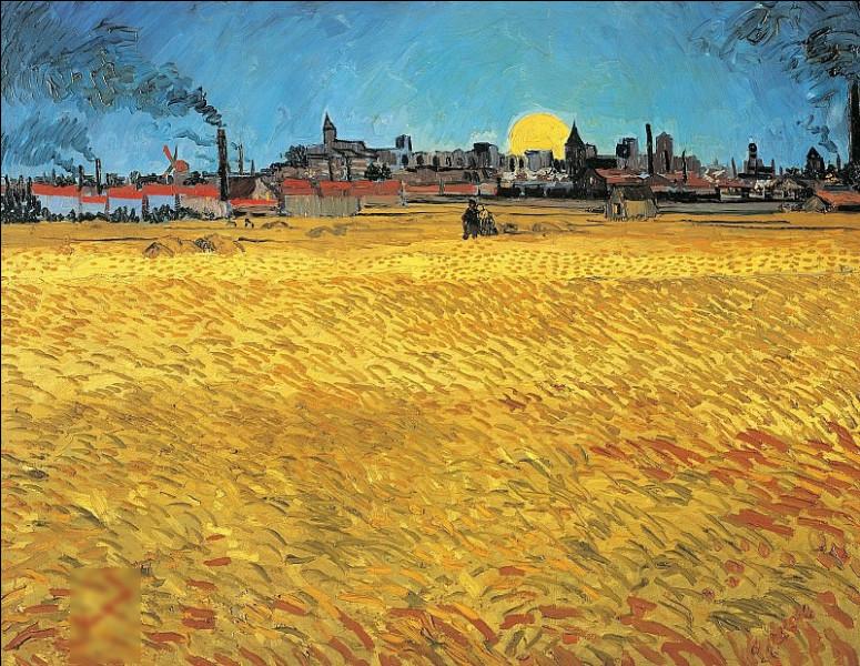 """""""Soir d'été, soleil couchant"""" est un tableau de quel peintre ?"""