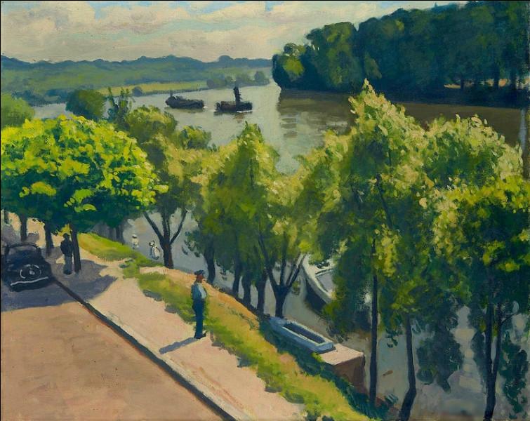 "Qui a peint ""Montigny en été"" ?"