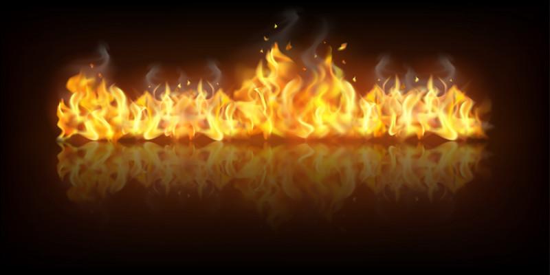 Dans quelle saga/série le collège prend-il feu ?