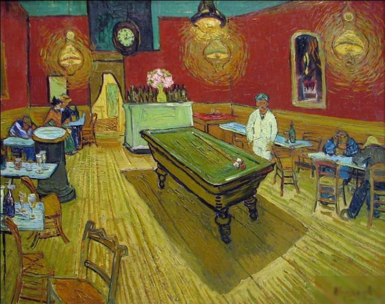 """Quel peintre est l'auteur du tableau """"Café de nuit"""" ?"""