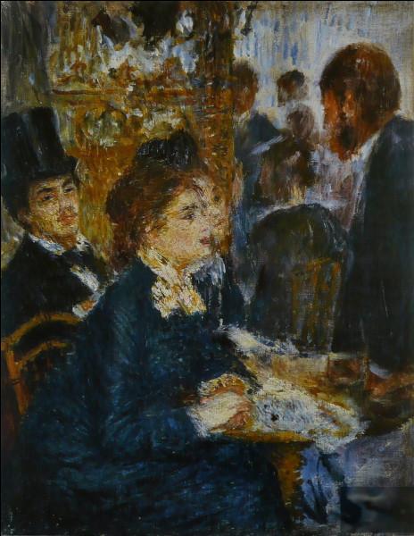 """""""Au café"""" est un tableau de quel peintre impressionniste ?"""