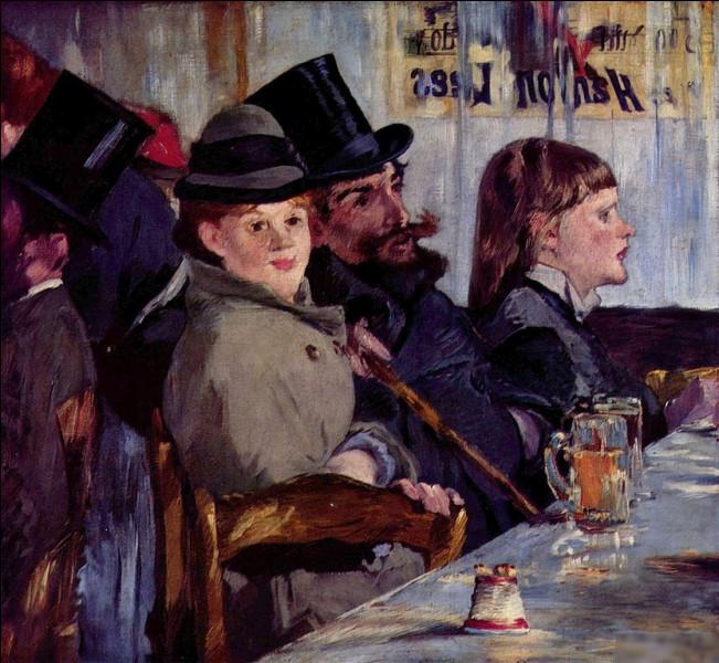 """Qui a peint le tableau """"Au café"""" ?"""