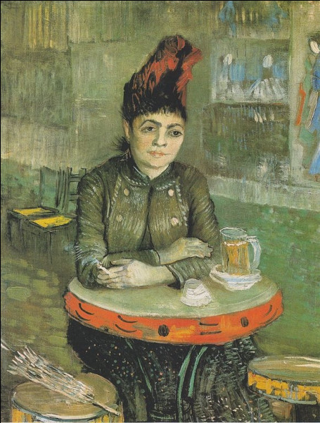 "Qui a peint ""La Femme au tambourin"" ?"