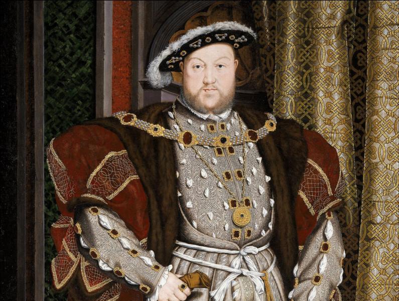 Combien de femmes l'ancien roi d'Angleterre Henri VIII avait-il épousées ?