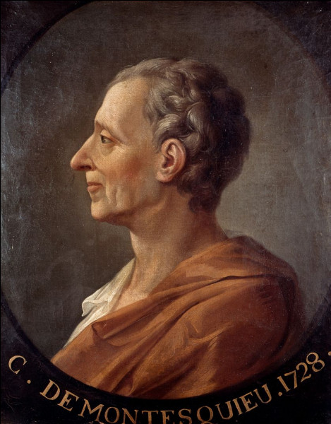 Montesquieu : quelle œuvre ne lui appartient pas ?