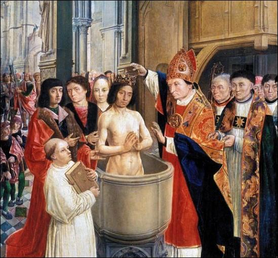 Monseigneur : c'est Monseigneur Remi qui baptisa Clovis. Qui était-il ?