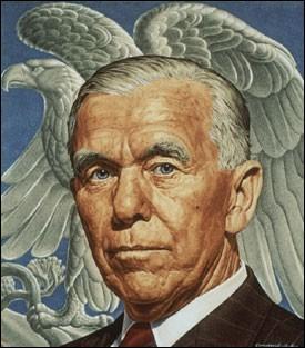 Qu'est-ce que le plan Marshall, mis en place par les Etats-Unis en 1947 ? (Portrait : le général Marshall)