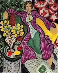 """Qui a peint le tableau intitulé """"La Femme au manteau violet"""" ?"""