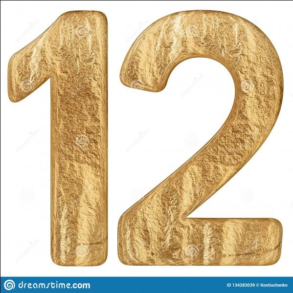 Combien font 12 × 10 ?