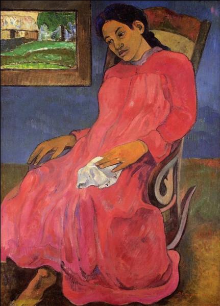 """""""Femme mélancolique"""" est un tableau de quel peintre ?"""