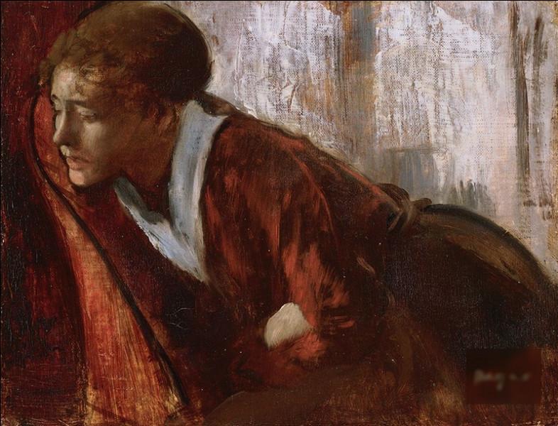 """Qui a peint """"Mélancolie"""" ?"""