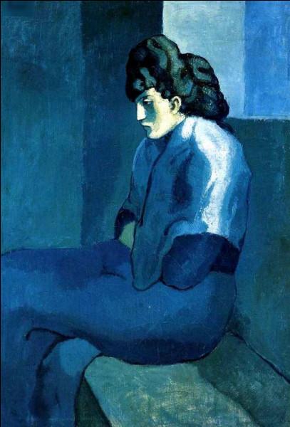 """Quel peintre du début XXe a réalisé """"Femme assise mélancolique"""" ?"""