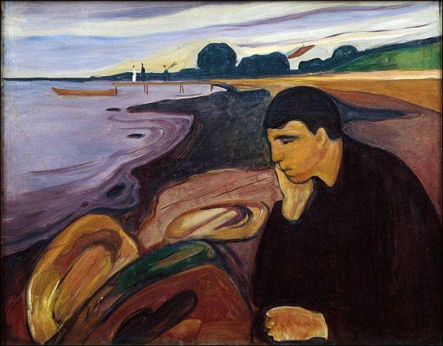 """""""Mélancolie"""" est l'œuvre de quel peintre ?"""