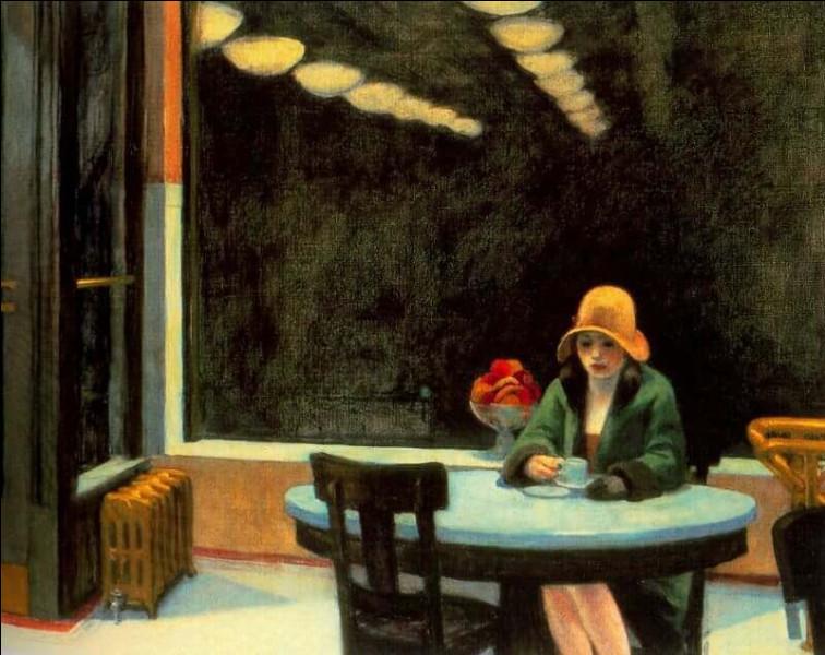 """Quel peintre américain du XXe a peint """"Automate"""" ?"""