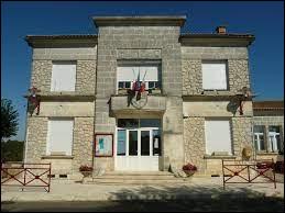 Commune de l'arrondissement d'Angoulême, Mainzac se situe ...