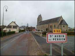 Ancienne commune normande, dans l'arrondissement de Coutances, Saint-Aubin-du-Perron se situe dans le département ...