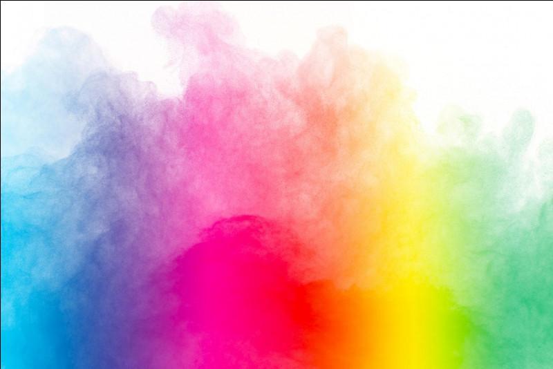 Quelle couleur ne figure pas dans tes couleurs favorites ?