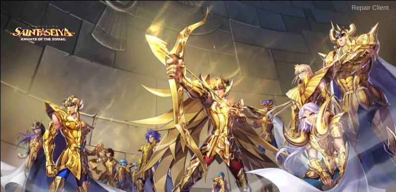 Qui est le Chevalier d'Or principal de la série Saintia Shô ?