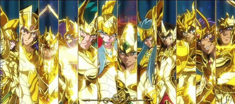 D'après Saint Seiya Saintia Shô, qui sont les trois Chevaliers d'Or que Saori souhaitait définitivement rallier à sa cause durant la Bataille des Douze Maisons ?