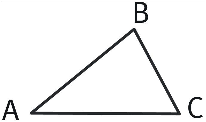 Est-il possible de tracer un triangle de côté AB = 1 cm, BC = 2 cm et AC = 3 cm ?
