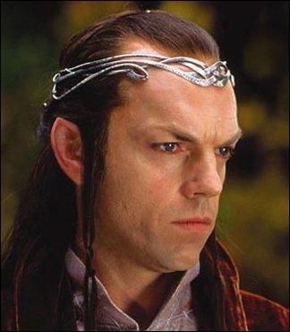 De quel territoire Elrond est-il le seigneur ?