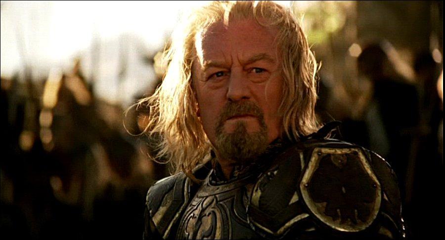 De quelle partie de la Terre du Milieu Théoden est-il le roi ?