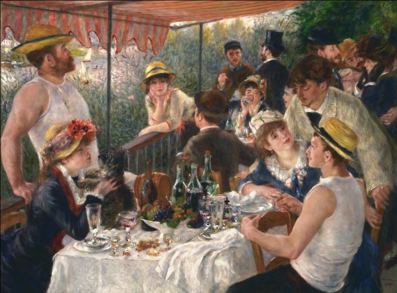 Un des tableaux les plus célèbres de Renoir. Comment se nomme-t-il ?