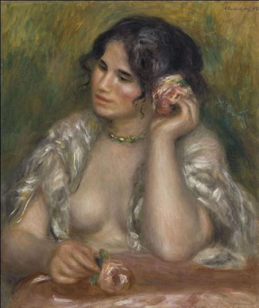 Quel est le titre de ce tableau érotique de Renoir ?