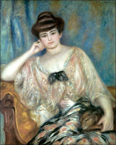 Quelle est cette pianiste polonaise représentée ici en portrait ?