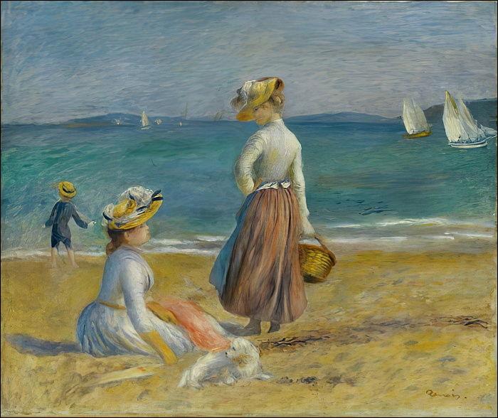 Quel est le titre ce tableau très peu connu de Renoir ?