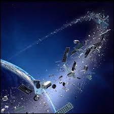 Environ combien de morceaux de débris se baladent dans l'espace ?