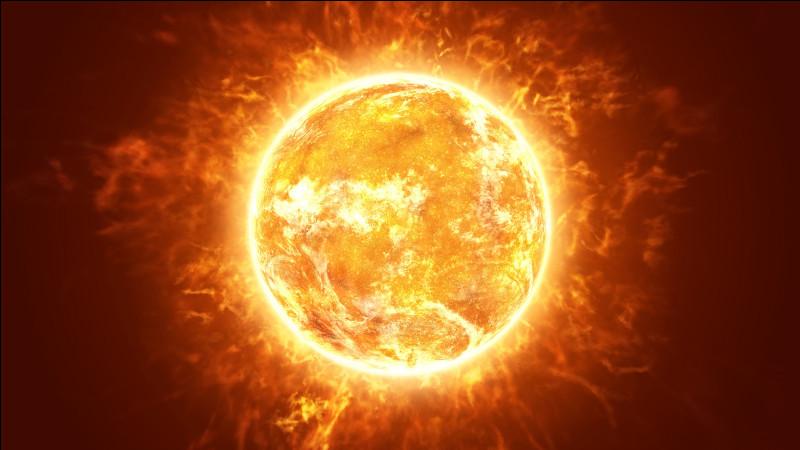 Le soleil est aujourd'hui âgé de 4, 57 milliards d'années. Sa durée de vie totale estimée est égale au double de sa durée de vie actuelle.Quelle sera sa durée de vie totale estimée ?