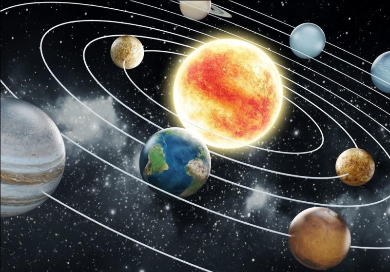 Jupiter est à 750 millions de kilomètres du Soleil. Sachant que la vitesse de la lumière dans le vide est de 300 000 km/s, en combien de temps met la lumière du Soleil pour parvenir jusqu'à Jupiter ?