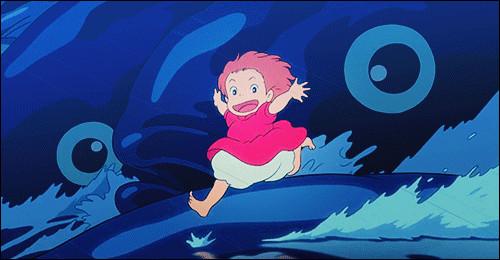 Quel est ce Ghibli ?(Indice) : Sosuke se lie d'amitié avec un poisson rouge qui veut à tout prix devenir humain.