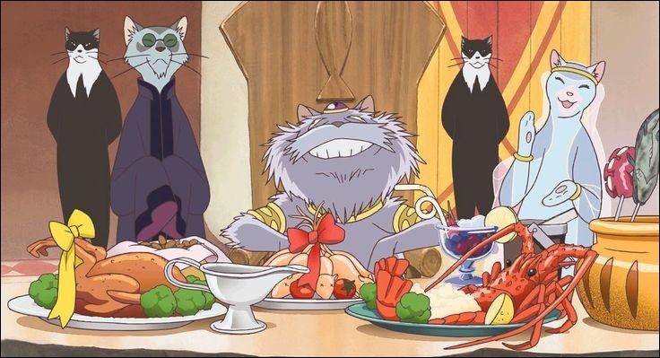 Quel est ce Ghibli ?(Indice) : la jeune Haru, après avoir sauvé un chat, découvre que celui-ci est le prince d'un royaume.