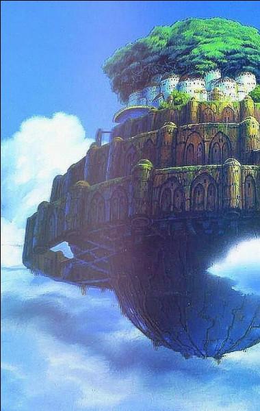 Quel est ce Ghibli ? (Indice) : un jeune mineur et une jeune fille cherchent une île mystérieuse.
