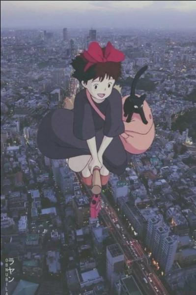 Quel est ce Ghibli ? (Indice) : une jeune fille part loin de sa famille pour pratiquer la magie.