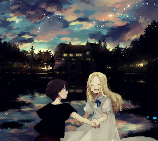 Quel est ce Ghibli ?(Indice) : Anna se lie d'amitié avec une mystérieuse fillette, mais ce lien n'est pas réel.