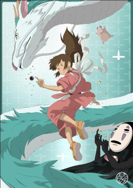 Quel est ce Ghibli ? (Indice) : une fille s'aventure dans un monde où règne une sorcière qui transforme tous ceux qui lui désobéissent en animal.