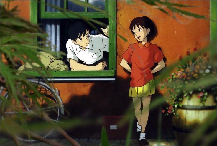 Quel est ce Ghibli ?(Indice) : on peut y entendre la célèbre chanson de John Denver : « Take Me Home, Country Roads ».