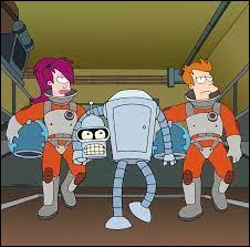 Nous retrouvons notre équipe de choc, Bender, Leela et Fry ! Où les trouve-t-on ?
