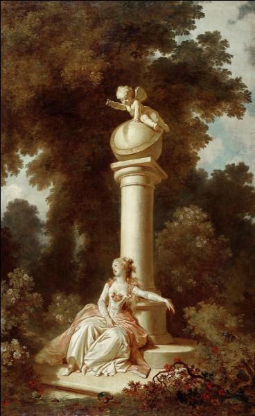 """Toujours dans la peinture française du XVIIIe, qui a peint """"La Rêverie"""" ?"""