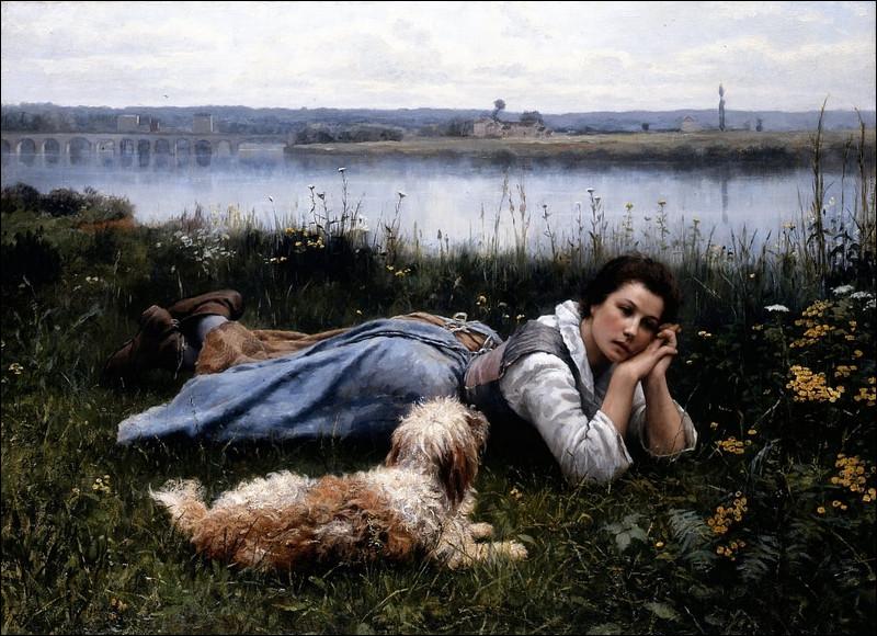 """Quel peintre américain est l'auteur du tableau """"Rêverie"""" ?"""
