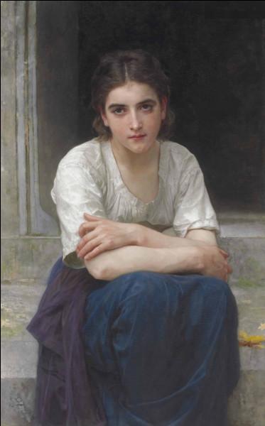 """""""Rêverie sur le seuil"""" est un tableau de quel peintre ?"""