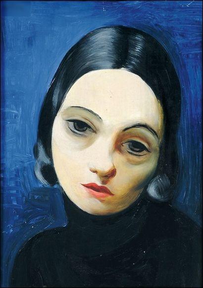 """Quel peintre du début XXe est l'auteur du tableau """"Portrait de jeune femme rêveuse"""" ?"""